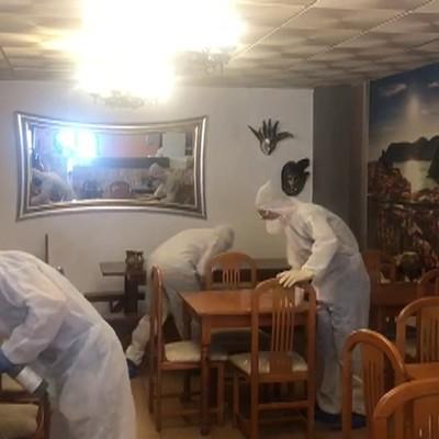 Desinfección Restaurante