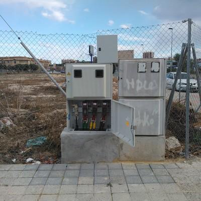 Instalación (Cuadro General Protección) CGP y módulo de medida viviendas unifamiliares, comercios e industria según REBT