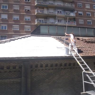 Impermeabilización bajo teja