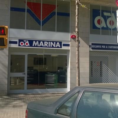 BOTIGA AMB MAGATZEM RECANVIS VEHICLES BARCELONA