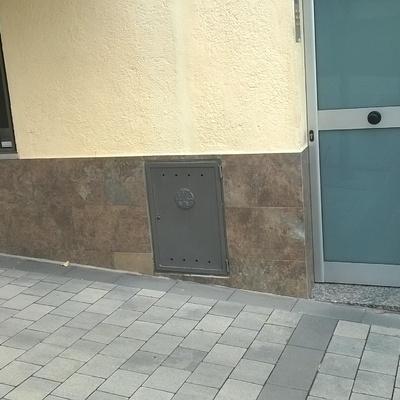 Frente de los bajos fachada principal
