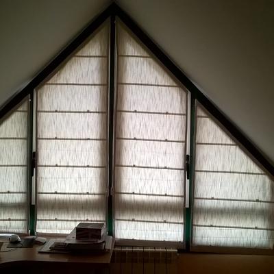 estores en ventanas abuhardilladas