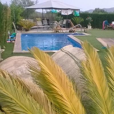 piscina de hormigón en Sagunto
