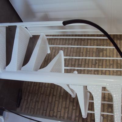 Escalera para altillo en loft