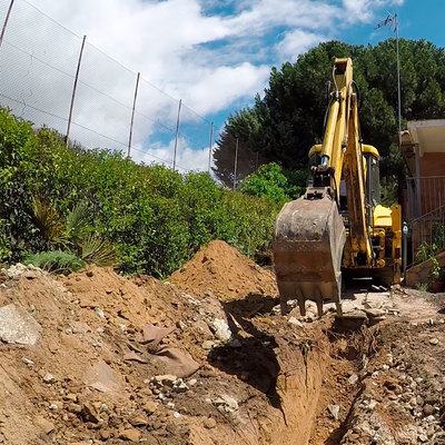 Excavación perimetral