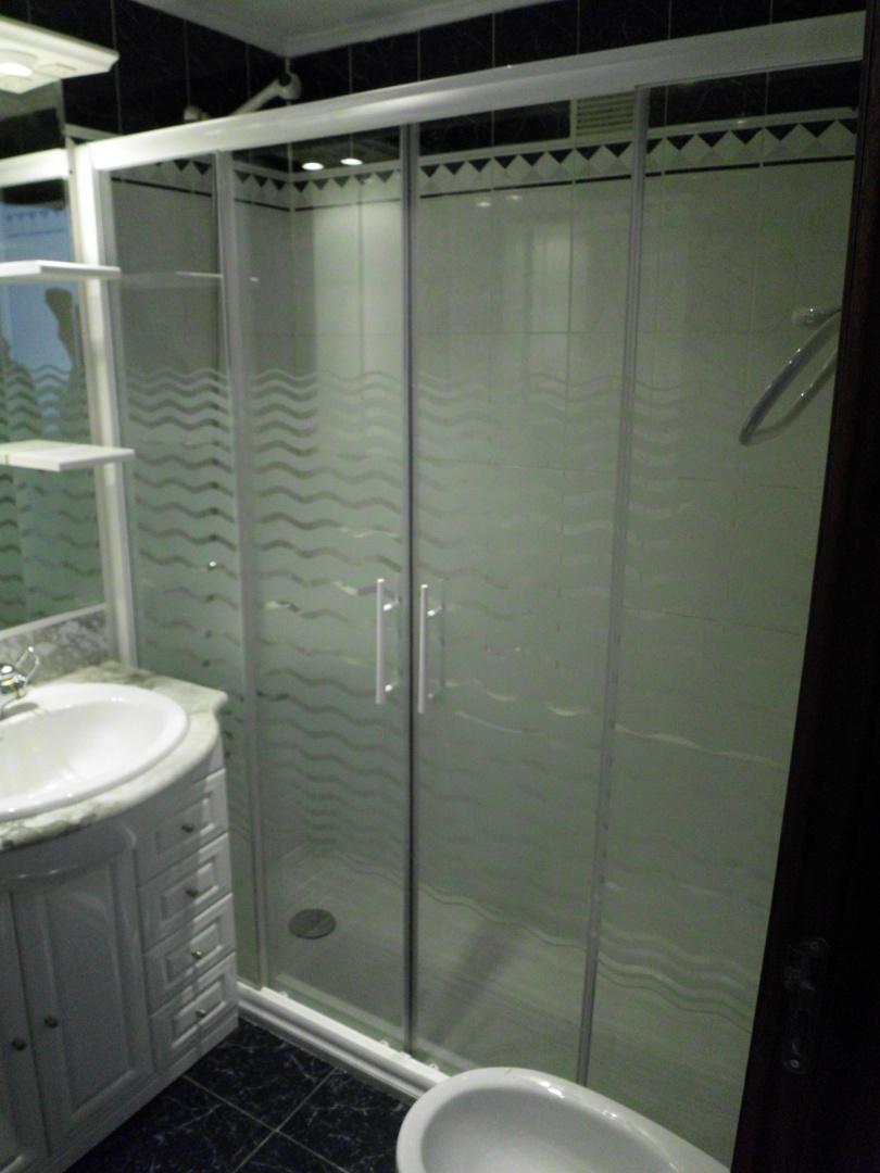 Cambio bañera por ducha y despues