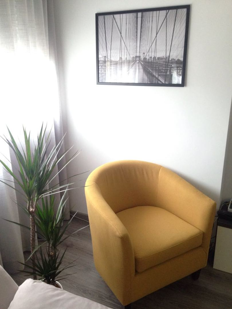 butaca y cortina