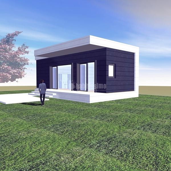 Foto arquitectos casas prefabricadas casas modulares de - Casas prefabricadas vizcaya ...