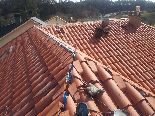 foto tejado nuevo de cubiertas y reformas villanueva
