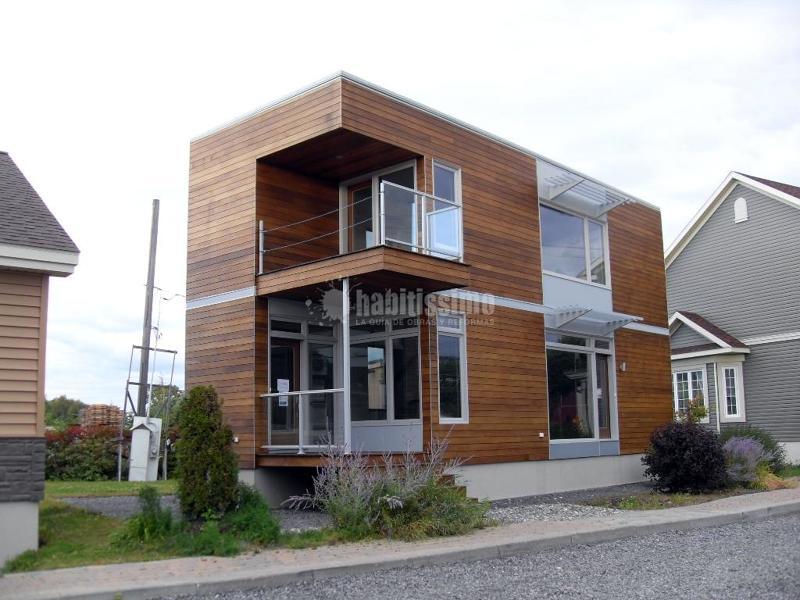 Foto construcci n casas casas prefabricadas - Casas prefabricadas vizcaya ...