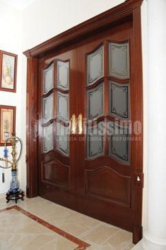 Foto construcci n casas p rgolas puertas madera de carpinteria de madera santa clara 12287 - Carpinteria santa clara ...