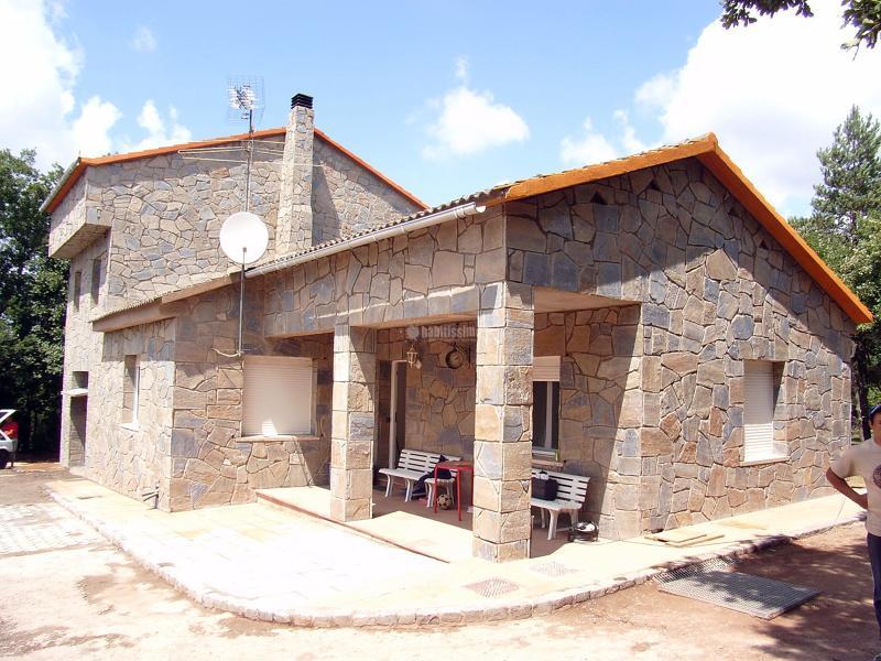 Foto fachada aplacado de piedra natural de colocaci n - Fachadas de piedra natural ...