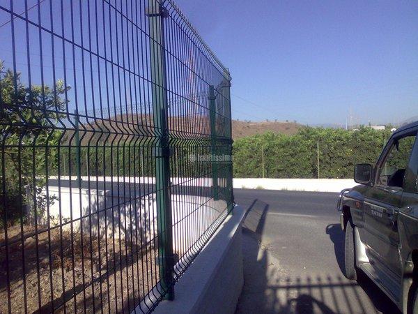 Foto cerramientos vallado parcelas reforma de cercados - Vallas para parcelas ...