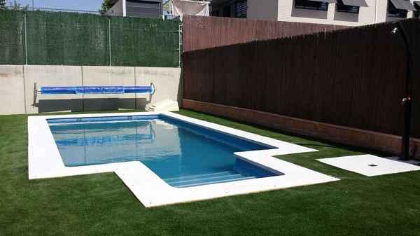 Foto madrid 8x4 de piscinas decoline 1013658 habitissimo for Precio piscina obra 8x4