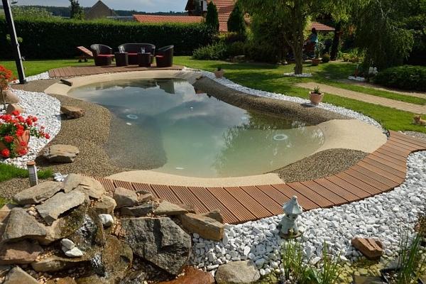 Foto piscina de arena de piscinas igui madrid 966417 for Piscina de arena construccion