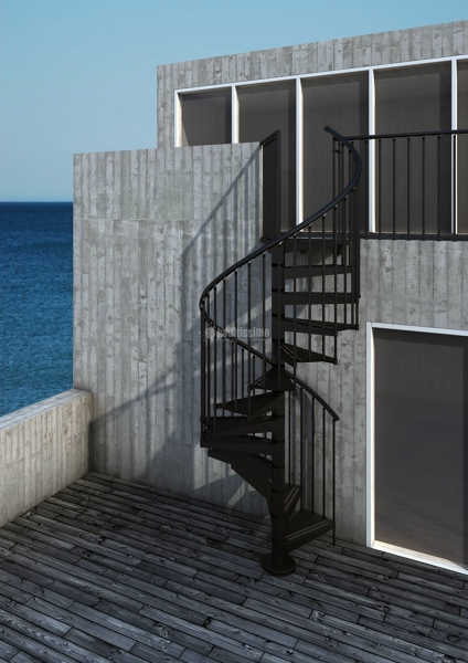 Foto reformas viviendas construcciones reformas obras - Escaleras para exterior ...