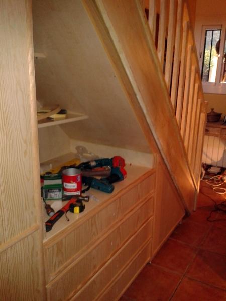 Construccion Baño Bajo Escalera:Foto: Armario bajo Escalera Sra Sandra de Jocar #339054 – Habitissimo