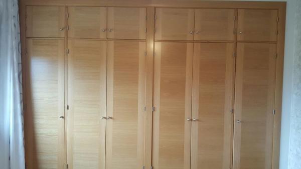 Foto armario empotrado de 6 puertas abatibles de brico - Puertas armario abatibles ...