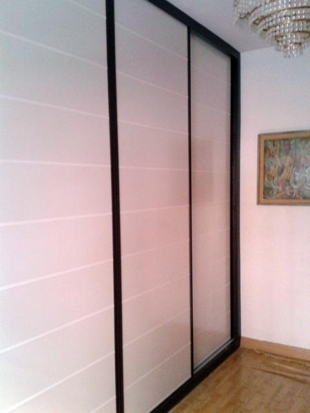 Foto Armario Puerta Coredera Japonesa Wenge Blanco De Gyl - Puertas-japonesas-deslizantes