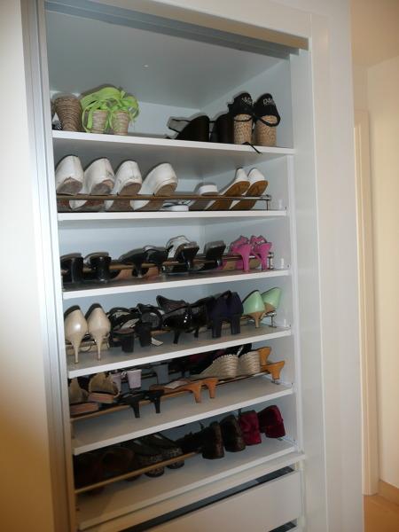 Foto armario vestidor visto zapatero de casanova l - Como hacer un armario zapatero ...