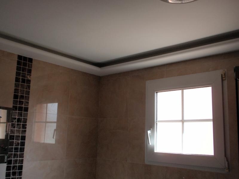 Foto bandeja luz indirecta de escayolas y pladur juanjo - Cornisas para luz indirecta ...