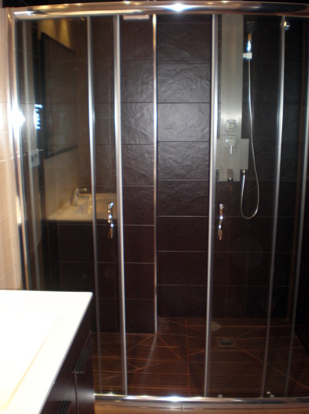 Foto ba o reformado plato de ducha de obra de corema - Fotos de duchas de obra ...