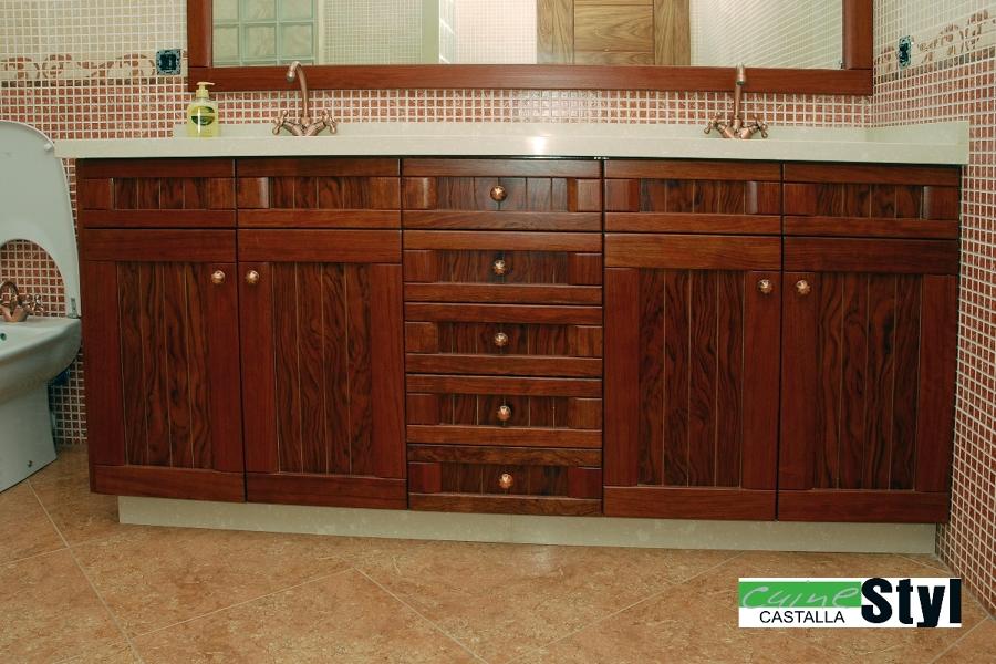 Baños Rusticos Romanticos:Foto: Baño Rústico de Muebles De Cocina Cuinetyl #317281