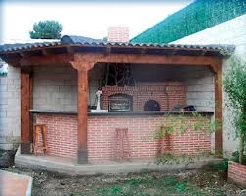 Foto barbacoa jard n de reformas y decoraci n mario for Barbacoas de jardin