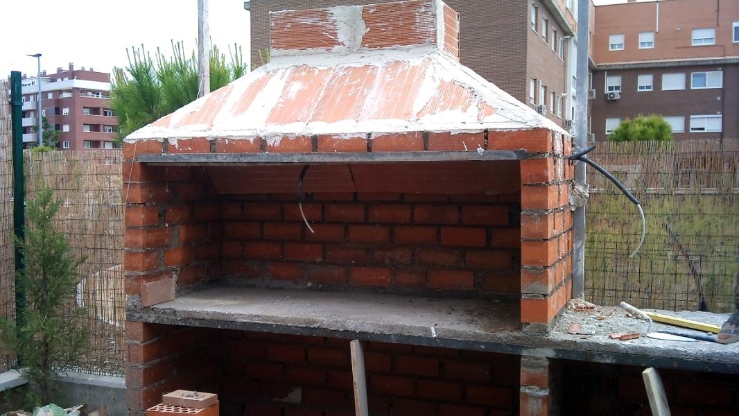 Foto barbacoas de obra modelo argentinos de reformas ruben 318261 habitissimo - Como se construye una barbacoa ...