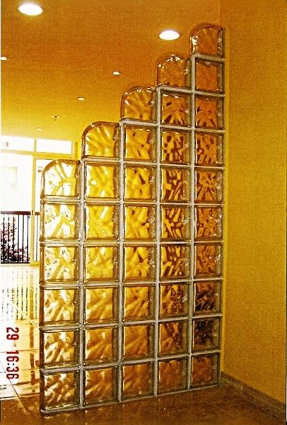 Foto bloques de cristal barcelona de reformas victoria - Bloque de vidrio precio ...