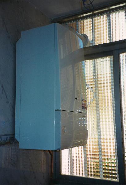 Foto caldera de gas de instaladores asociados de la for Instaladores de calderas de gas
