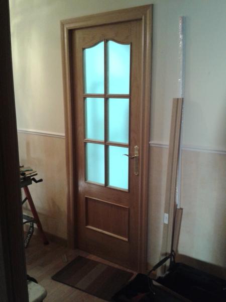 Foto cambio de puerta cocina de decoraciones pemar - Cambio de puertas ...