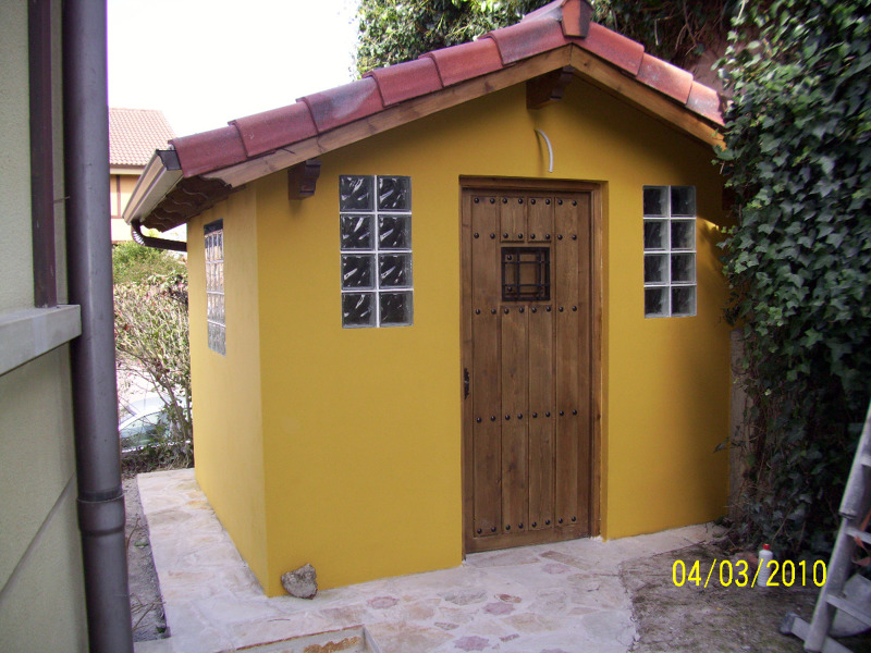 Foto caseta de obra de construciprian laredo 144461 for Casetas de almacenaje para jardin