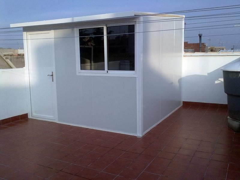 Foto caseta de decorvi 149166 habitissimo for Casetas aluminio para terrazas
