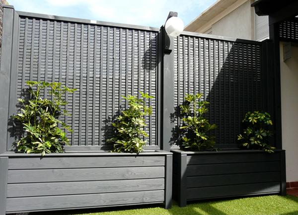 Foto celos as con jardineras de garden dekor88 132183 - Celosia con jardinera ...