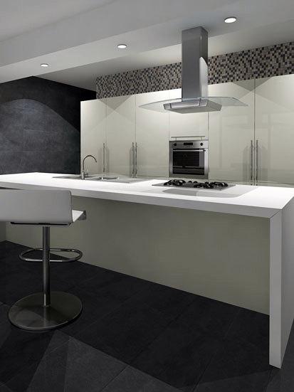Foto cocina americana de jonkar reformas 356622 for Alicatado de cocinas precios