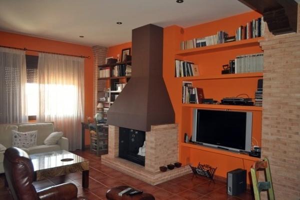 Foto cocina campera chimenea de proyectos y for Cocinas rusticas con chimenea