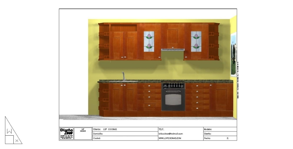 Foto cocinas de polilaminado a precio de formica de lof for Oficina empleo illescas