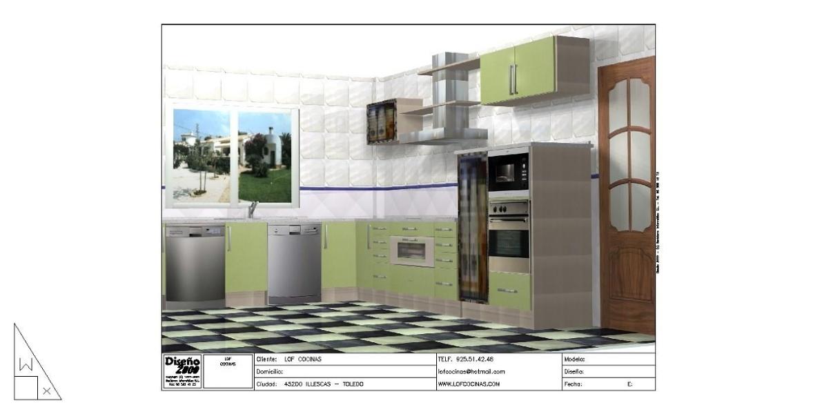 Foto cocinas integrales de lof cocinas illescas 141637 for Oficina empleo illescas