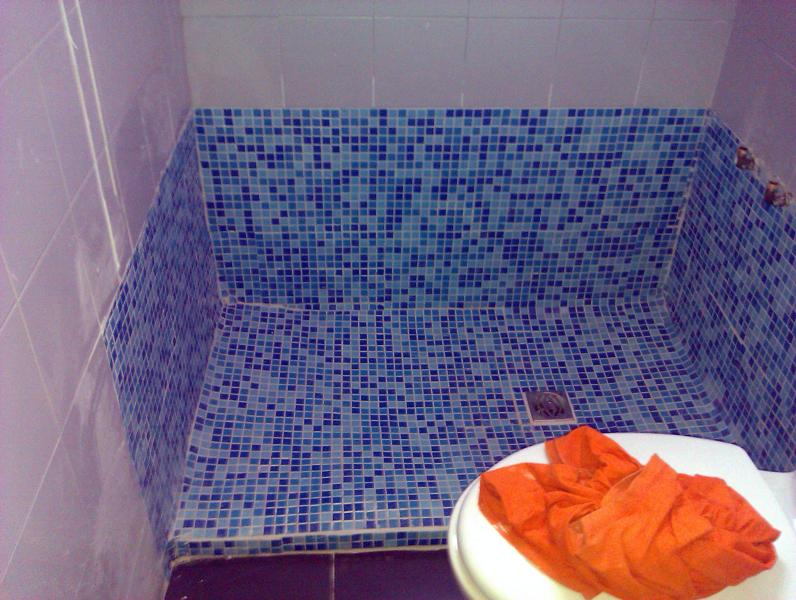 Foto como hacer un plato de ducha de obra de aurelantonio interiorismo y reformas 252927 - Como se coloca un plato de ducha ...