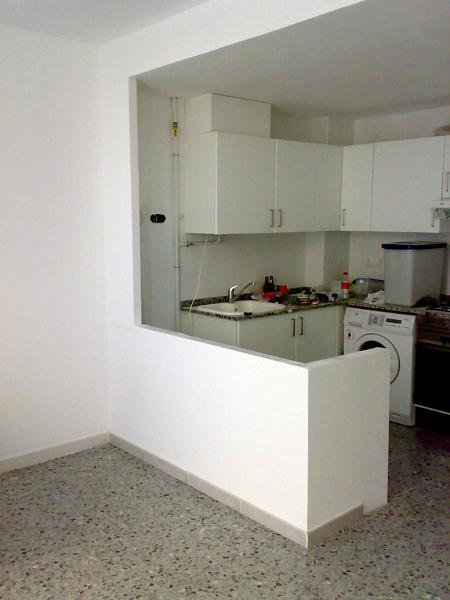 Foto construcci n de una barra de cocina de gonzalo for Imagenes de barras para cocina