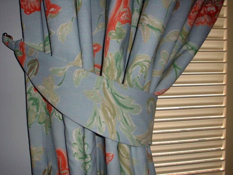 Foto cortina con abrazadera de tapicecor 315254 - Abrazaderas para cortinas ...