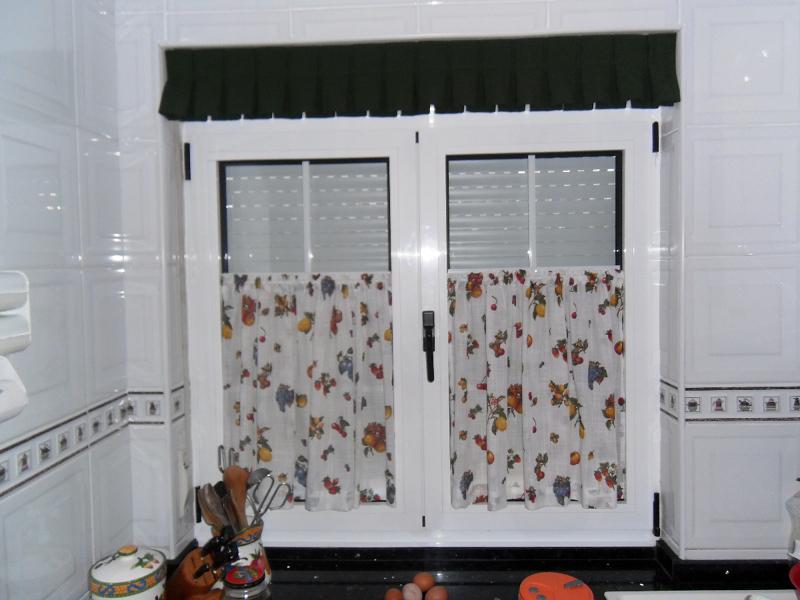 Foto amplio surtido en cocinas de cortinas le n 207933 for Ideas para cortinas de cocina