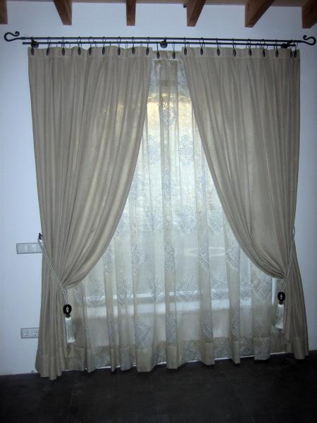 Foto cortinas de yutes barras de valentina de milfils - Barras de cortina ...