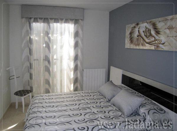 Foto cortinas para dormitorio moderno de la dama - Cortinas infantiles barcelona ...