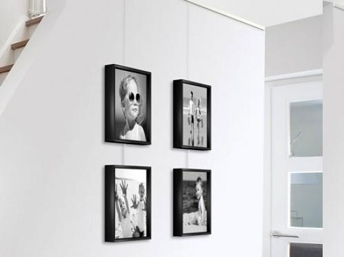 Foto decora con nuestras guias para colgar cuadros de www - Sistemas para colgar cuadros ...