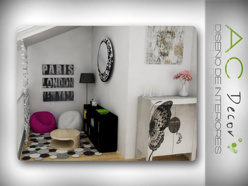 Foto decoraci n espacio chillout en casa unifamiliar de - Chill out en casa ...