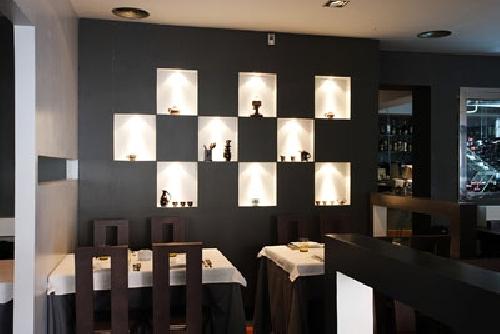 Foto decoracion restaurante mueble pladur de aislamientos for Decoracion de pladur