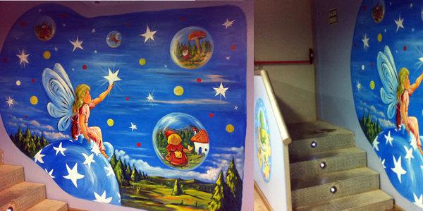 Foto detalles y murales de parques infantiles de for Comprar murales para pared