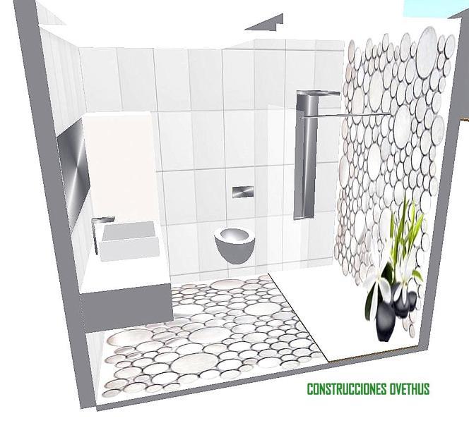 Reforma Baño En Gijon:Foto: Diseño de Baño para Reforma en Gijon de Construcciones Ovethus